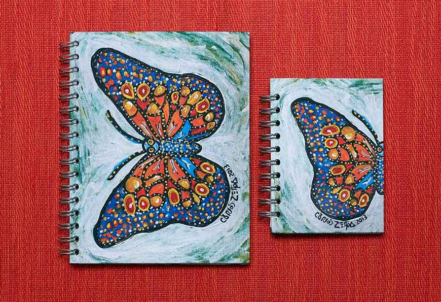 870x595 Cuaderno Mariposa X Carlos Zerpa