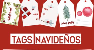 tags navideños, navidad, merarda